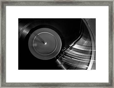 Stylus On Vinyl Framed Print by Logan Clark