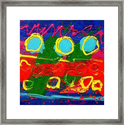 Sub Aqua I - Triptych Framed Print by John  Nolan