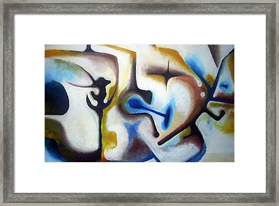 Subconscious Framed Print by Meli Laddpeter