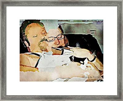 Sublime Framed Print by Regina Arnold