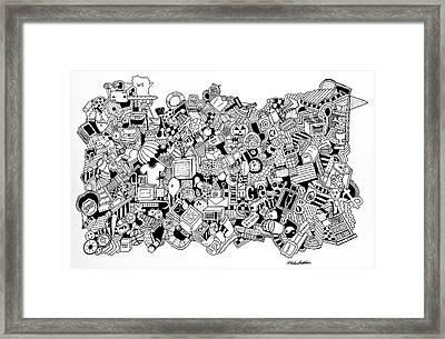 Substance Framed Print by Chelsea Geldean