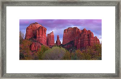 Subtle Changes Framed Print by Mikes Nature