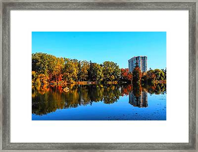 Suburban Color Framed Print by Karl Anderson