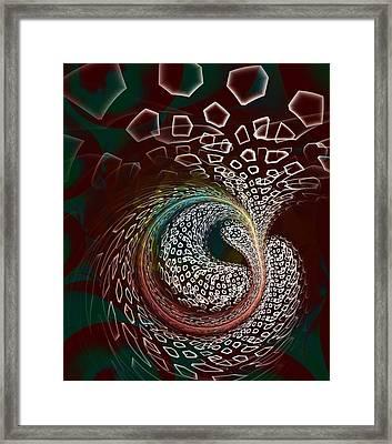 Sudden Outburst Framed Print by Anastasiya Malakhova