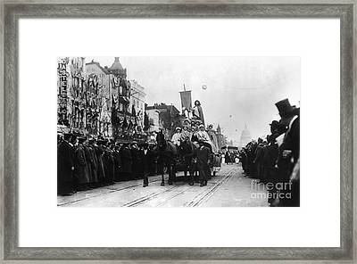 Suffrage Parade, 1913 Framed Print by Granger