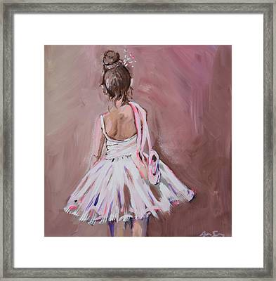 Sugar And Spice  Framed Print by Anne Seay