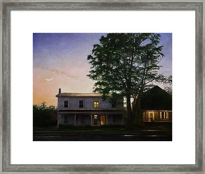 Sullivan Street Framed Print by Wayne Daniels