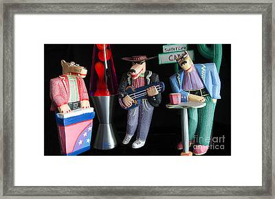 Sultans Of Swing Framed Print by Bob Christopher