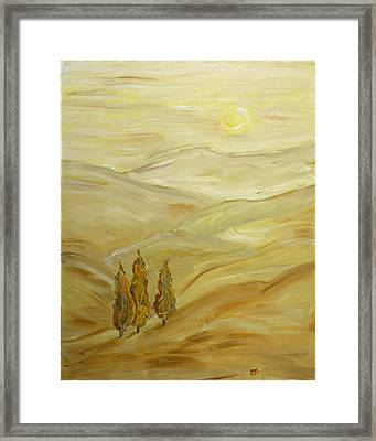 Sultry Day Framed Print by Mila Ryk