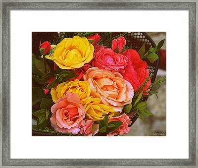 Summer Bouquet Framed Print by Marija Djedovic