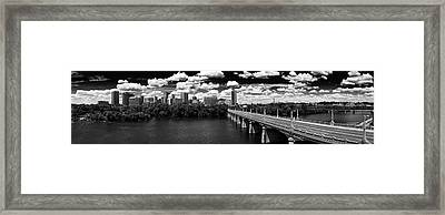 Summer Day In River City Framed Print by Tim Wilson