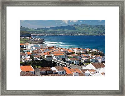 Summer Day In Sao Miguel Framed Print by Gaspar Avila