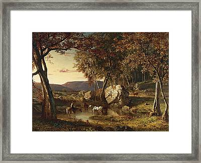 Summer Days Framed Print by George Inness