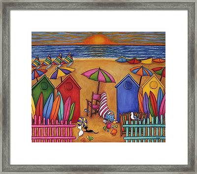 Summer Delight Framed Print by Lisa  Lorenz