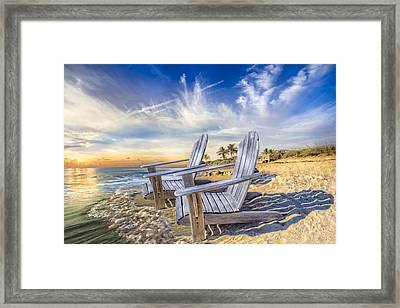 Summer Dreaming Framed Print by Debra and Dave Vanderlaan
