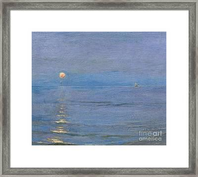Summer Evening Framed Print by PS Kroyer
