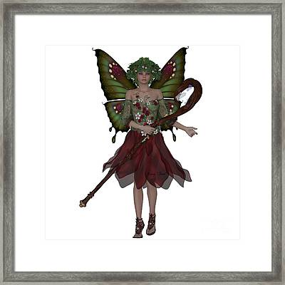 Summer Fairy Framed Print by Corey Ford