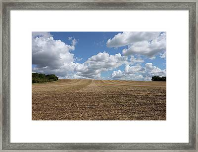 Summer Farm Framed Print by Mark Severn