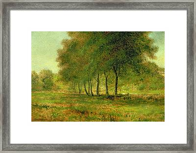 Summer Framed Print by George Snr Inness