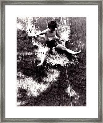 Summer In Hawaii Framed Print by BertJohn Bautista
