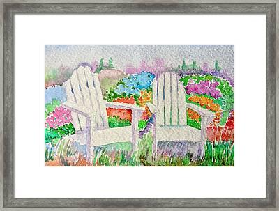 Summer In Paradise Framed Print by Elena Mahoney
