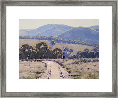 Summer Light Lithgow Framed Print by Graham Gercken