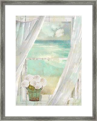 Summer Me Framed Print by Mindy Sommers