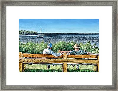 Summer Memories Framed Print by Patricia L Davidson