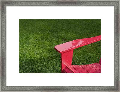 Summer Memories Framed Print by Rebecca Cozart