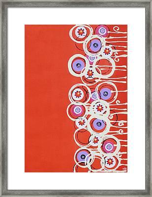 Summer Of Love II Framed Print by Graciela Bello