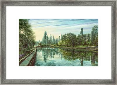 Summer Serenity Framed Print by Doug Kreuger