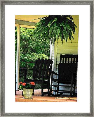 Summer Sitting Framed Print by Joyce Kimble Smith