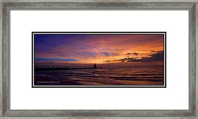 Summer Sky Framed Print by Steven Campbell