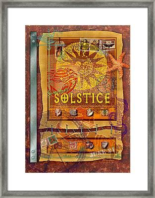Summer Solstice Framed Print by Ernestine Grindal