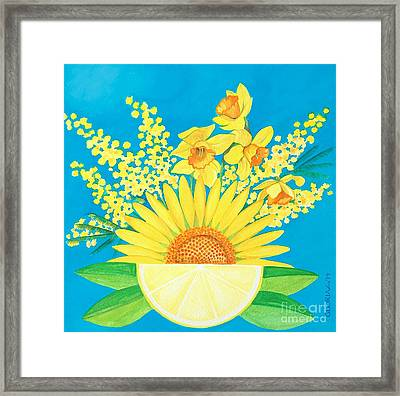 Summer Solstice Framed Print by Gloria Di Simone