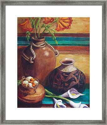 Summer Still Life Framed Print by Candy Mayer