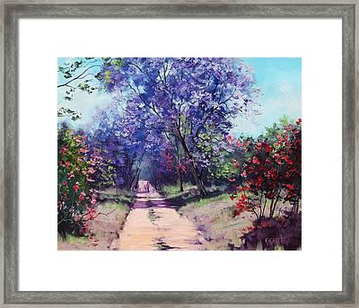 Summer Stroll Framed Print by Graham Gercken