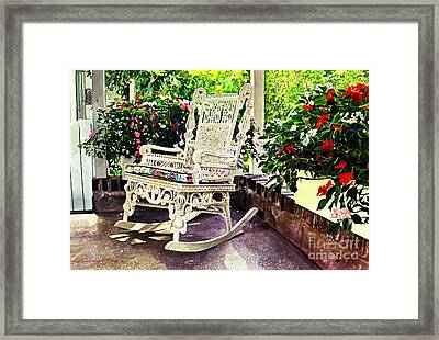 Summer Sun Porch Framed Print by David Lloyd Glover