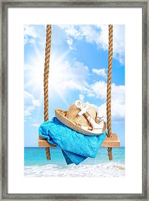 Summer Swing Framed Print by Amanda And Christopher Elwell
