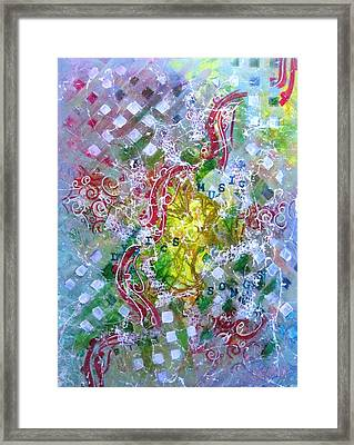 Summer Symphony Framed Print by David Raderstorf