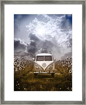 Summer Trip 2 Framed Print by Bekim Art