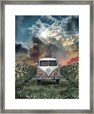 Summer Trip 4 Framed Print by Bekim Art