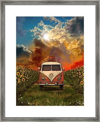 Summer Trip Framed Print by Bekim Art