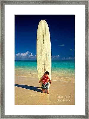 Summer Vacation Framed Print by Dana Edmunds - Printscapes
