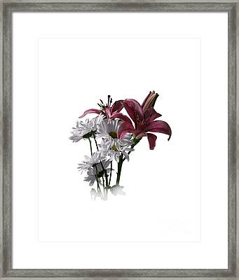 Summer Wild Flowers Clothing Framed Print by Ed Churchill