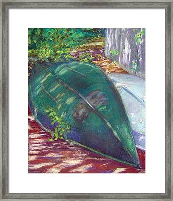 Summerime Overturned Framed Print by Katherine  Berlin