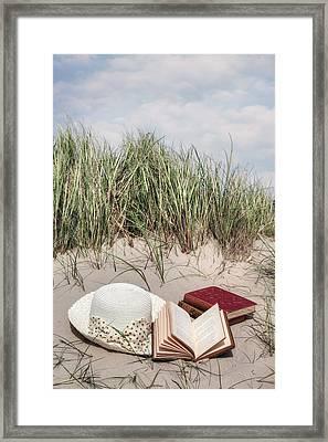Summertime Is Reading Time Framed Print by Joana Kruse