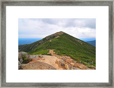 Summit Of Mount Lafayette Framed Print by Catherine Reusch  Daley