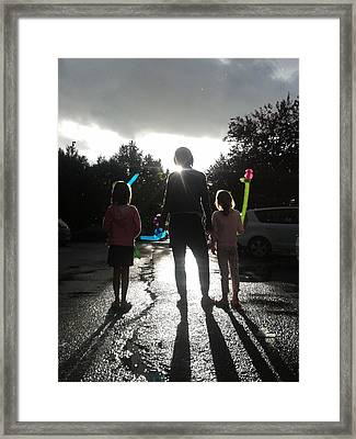 Sun Drops Framed Print by Giuseppe Epifani