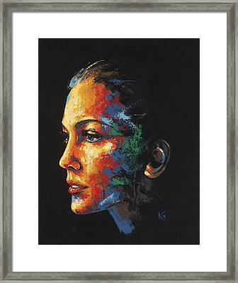 Sun Kissed - With Hidden Pictures Framed Print by Konni Jensen